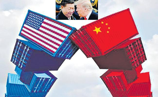 US, China Trade War Deepens as Beijing Retaliates With Higher Tariffs - Sakshi