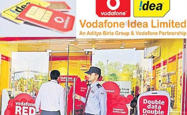Vodafone Idea lost Rs 4,882 crore - Sakshi