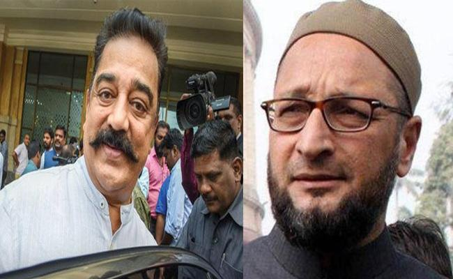 Asaduddin Owaisi Asks How Father Of Nation Killer Can Be Called Great - Sakshi