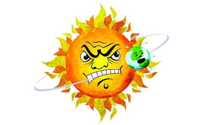 Summer Heat Rises in Chittoor - Sakshi