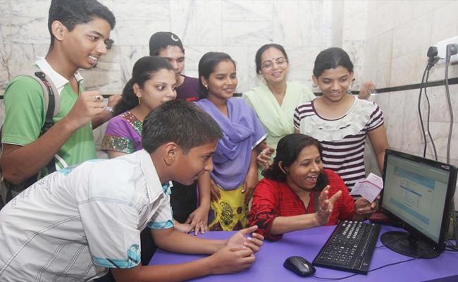 AP Tenth Results Declared - Sakshi