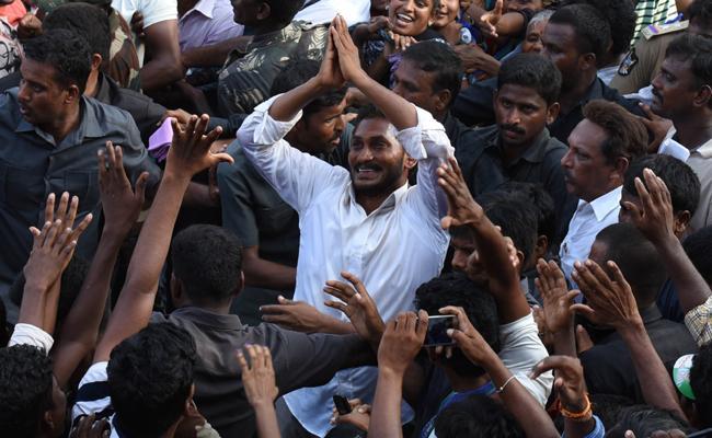 YSRCP President YS Jagan Mohan Reddy Has Been Reached To Kadapa - Sakshi