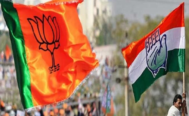 BJP And Congress Face To Face Fight In Himachal Pradesh - Sakshi