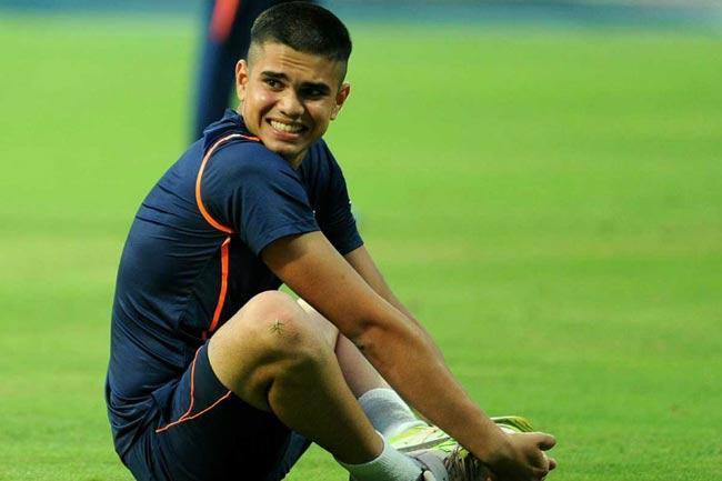 Arjun Tendulkar All-round Contribution in T20 Mumbai League - Sakshi