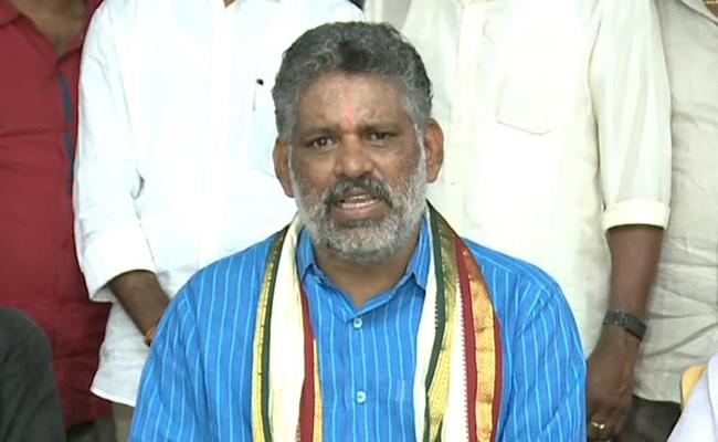 YSRCP Leader Chevireddy Bhaskar Reddy Comments On Repolling Issue - Sakshi