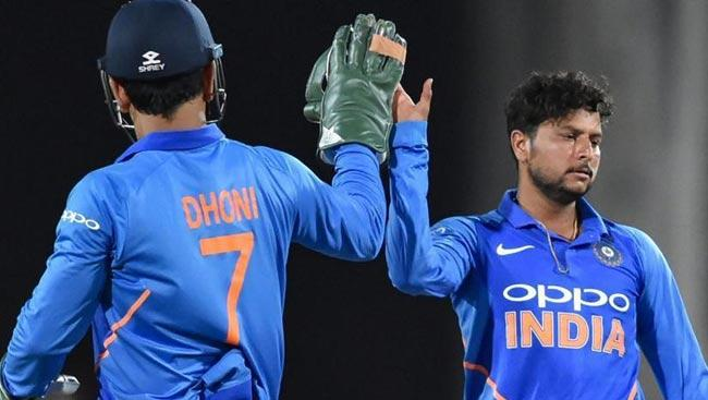 Kuldeep Yadav Clarifies Comments On Mahendra Singh Dhoni - Sakshi