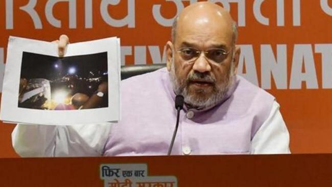 Amit Shah Blames Mamata For Roadshow Violence - Sakshi