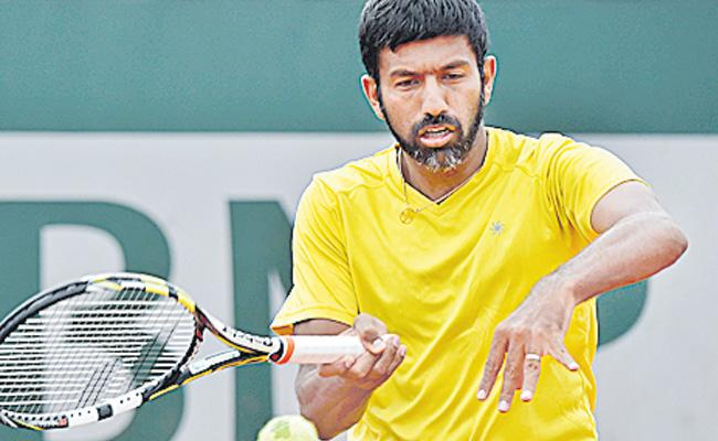 Sportstar Bopanna bows out in doubles - Sakshi