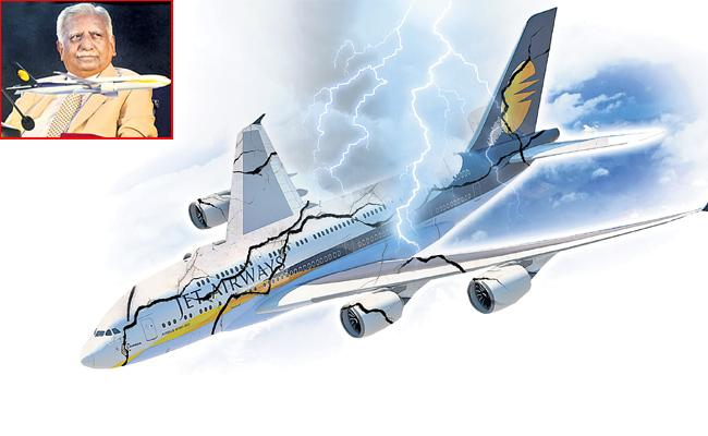 Time for Insolvency of airlines : Jet Airways a lesson - Sakshi