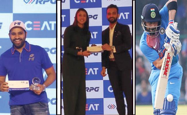 Virat Kohli Win Ceat international Cricketer Of The Year - Sakshi