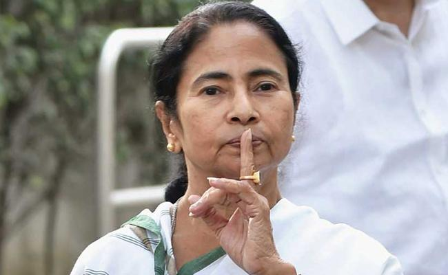 BJP Moves To EC For Ban Mamata Campaign In Bengal - Sakshi