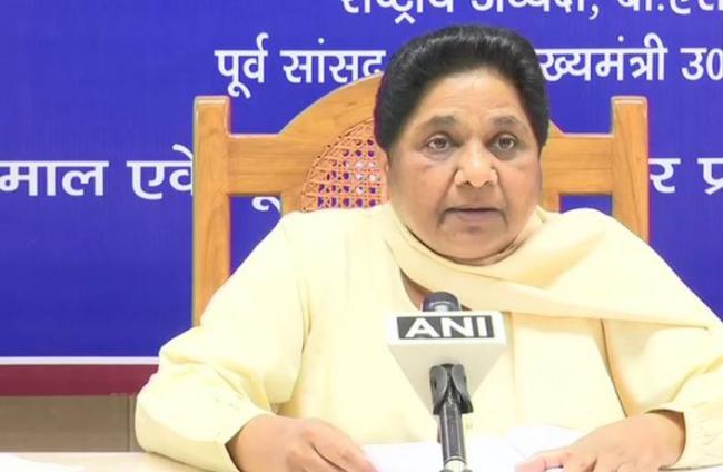 Mayawati Says Narendra Modis Tenure Full Of Violence - Sakshi