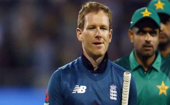 Eoin Morgan Banned From Fourth ODI Against Pakistan - Sakshi