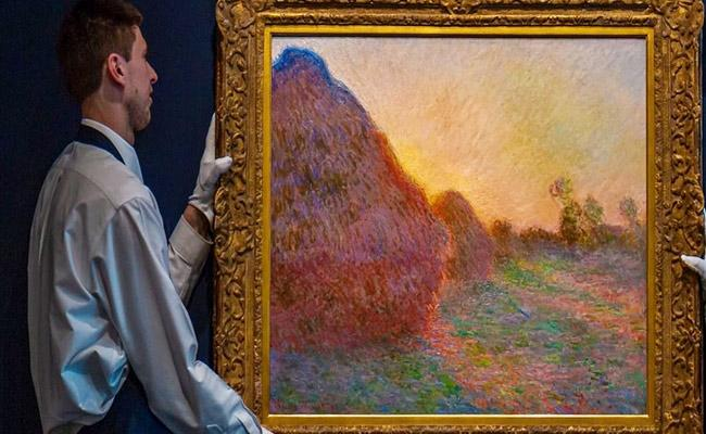 Internet shocked Over Monet Painting Sells For Record Price - Sakshi