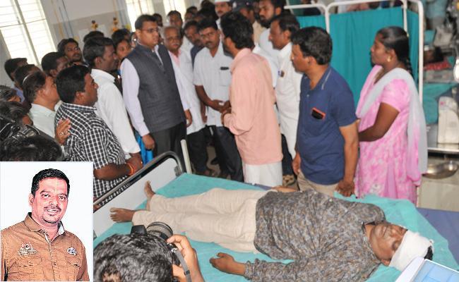 Photo Journlist Died in Current Shock Chittoor - Sakshi