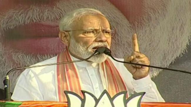 PM Modi Attacks Mamata Over Kolkata Violence - Sakshi