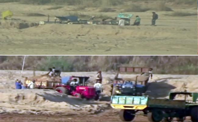 Sand mafia attacks two VROs in Srikakulam district - Sakshi