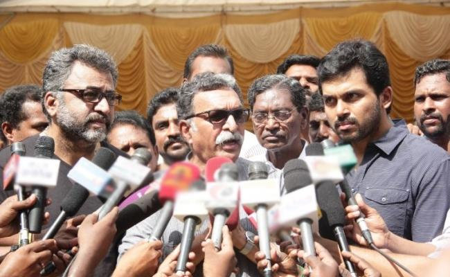 Retired Judge Appointed To Preside Over Nadigar Sangam Elections - Sakshi