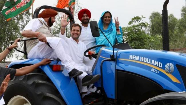 Time to Hand over the Wheels to Rahul Says Punjab cm - Sakshi