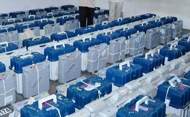 Jangaon Police Commissioner Observer Strong Rooms - Sakshi