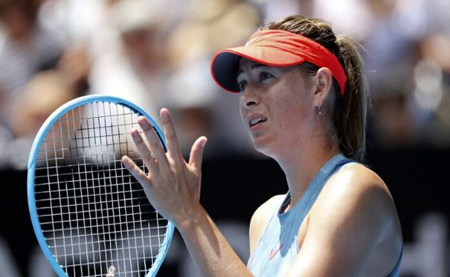 Maria Sharapova withdraws from French Open 2019 - Sakshi