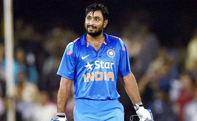 Rayudu Or Axar Possible Replacements For Jadhav If Needed - Sakshi
