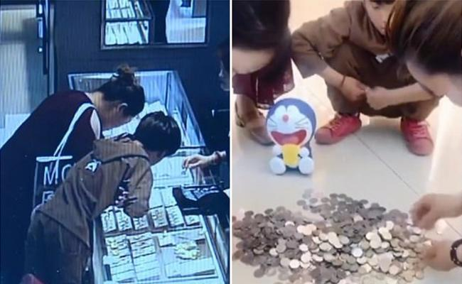 9 Years Old Smashes Piggy Bank And Gives A Surprise Gift To His Mother - Sakshi
