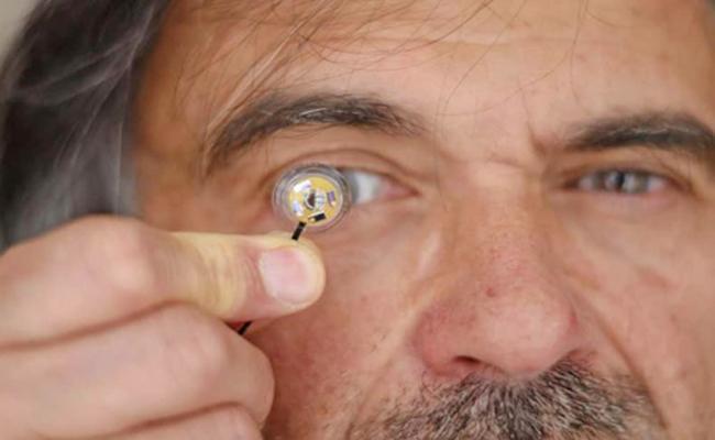 Eye E Contact Lence For Better Visual - Sakshi