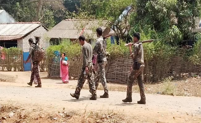 Police Coombing in AOB Visakhapatnam - Sakshi