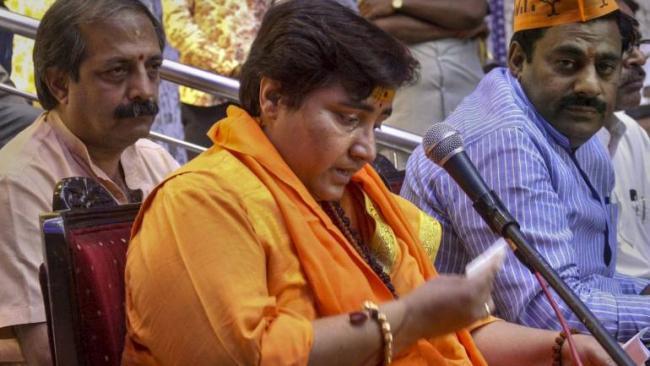 Pragya Singh Thakur Has Apologised Over Godse Comments - Sakshi