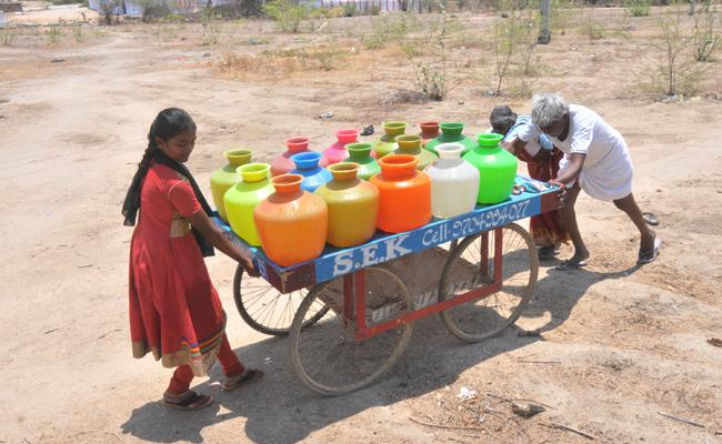 Water Problem in YSR Kadapa - Sakshi