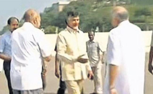 Chandrababu landed Directly to save TV9s Former CEO - Sakshi