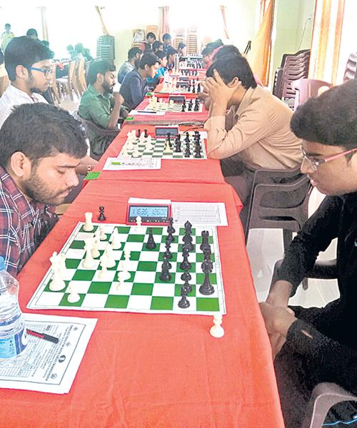 Rama Krishna Gets Third Title of FIDE Chess Tourney - Sakshi
