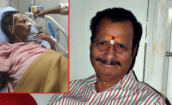 Senior Telugu Actor Rallapalli Narasimha Rao Has Passed Away In Maxcure Hospital - Sakshi