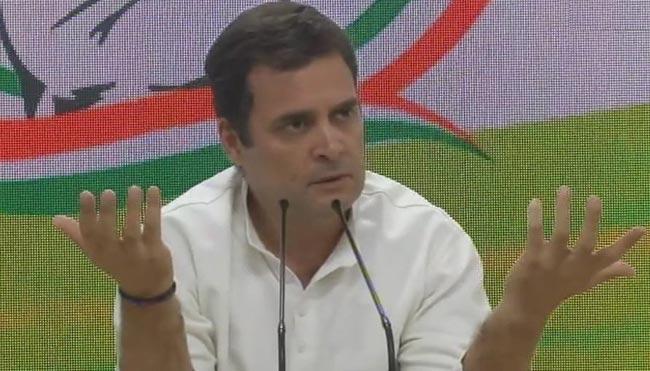 Rahul Gandhi Question To Narendra Modi - Sakshi