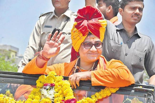 Pragya Thakur sparks another controversal coments - Sakshi