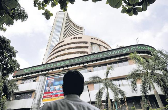 Sensex up 278 points, Nifty over 11,250 - Sakshi