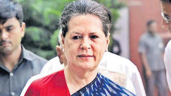 Sonia Gandhi invites non-NDA parties for meet on May 23 - Sakshi
