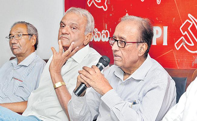 All Parties Wanted to Come Together to Preserve Indian Constitution - Sakshi