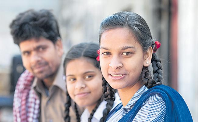 Overcoming personal problems and talent in the tenth class results - Sakshi