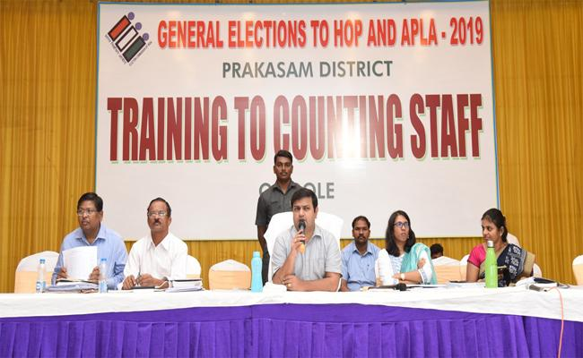 supervisors will made key roll in election counting - Sakshi