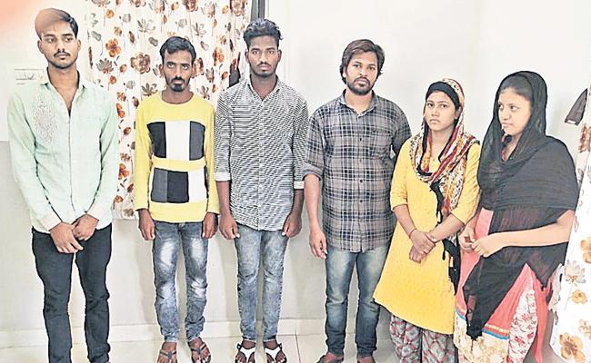 Marijuana Smuggling in Gajuwaka Hyderabad - Sakshi