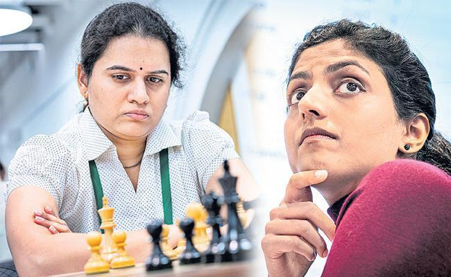 World Chess Championship14th place of Harika And Hamphy was ranked 15th - Sakshi