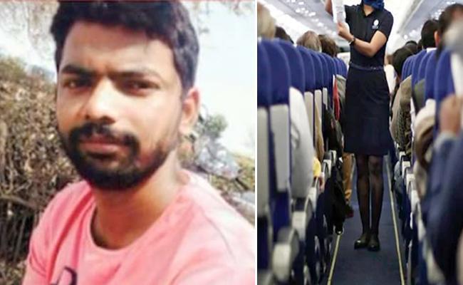 Rowdy sheeter cuts off Air Hostess ear in bangalore - Sakshi