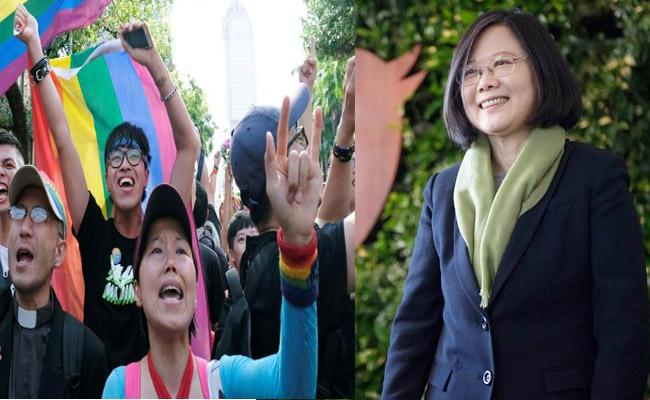 Taiwan Parliament Passes Same Sex Marriage Legalization Bill - Sakshi