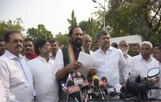 Opposition Parties In Telangana Met State Election Commission In Hyderabad - Sakshi