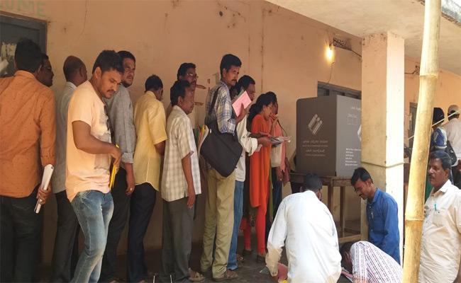 Postal Ballots Play A Key Role In Kurupam Assembly Elections2019 - Sakshi