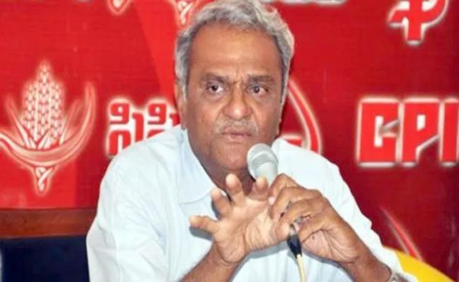 CPI Narayana Slams Narendra Modi Over Godse Comments - Sakshi