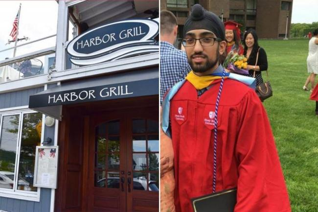 New York restaurant apologizes for denying entry to man in turban - Sakshi