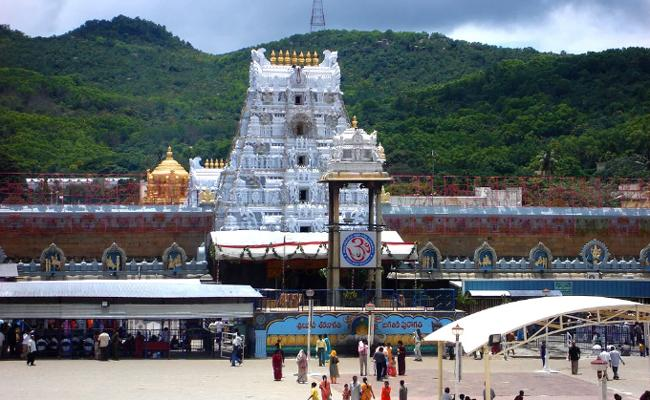 IB Warning Intensify Checks Across Tirumala - Sakshi